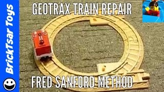 getlinkyoutube.com-Geotrax Train Engine Repair - How to fix a locomotive that has stopped working