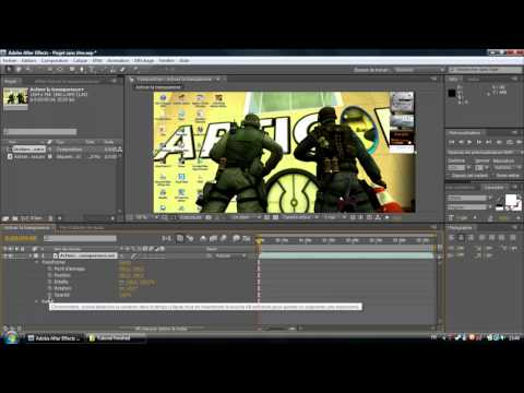 [FR] Comment faire un fondu sur After Effects.