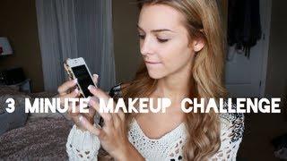 getlinkyoutube.com-3 Minute Makeup Challenge