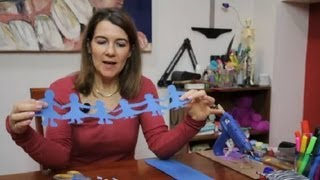 getlinkyoutube.com-Paper Folding Crafts for Kids : Paper Folding Projects
