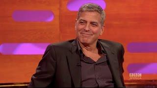 getlinkyoutube.com-How George Clooney pranked Meryl Streep & Brad Pitt - The Graham Norton Show