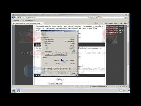 Wireless LAN part 5 Wireless Router as DHCP Server in Hindi