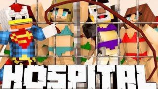 Broken Mods Hospital - Caged Wives Great Escape! (Minecraft Roleplay) #24