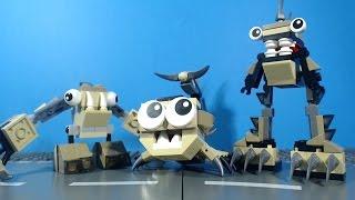 getlinkyoutube.com-LEGO Mixels Spikels Footi Scorpi Hoogi