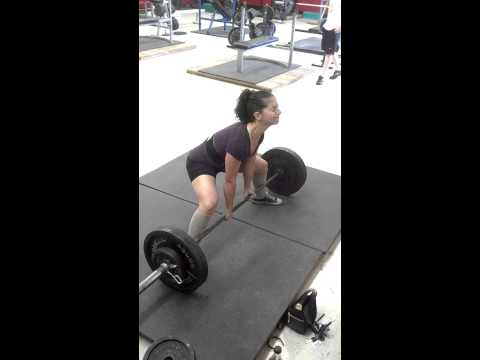 265 lb sumo deadlift
