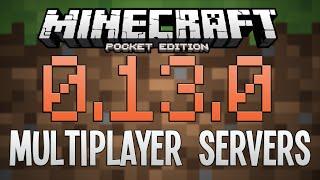 getlinkyoutube.com-0.13.0 MULTIPLAYER SERVERS! - Minecraft PE (Pocket Edition)