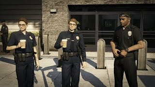 getlinkyoutube.com-GTA 5: how to get a police uniform - (GTA 5 police uniform)