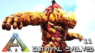 ARK: SURVIVAL EVOLVED - NEW ROCK ELEMENTAL GOLEM TAMING METHOD !!! E11 (MODDED ARK PUGNACIA DINOS)