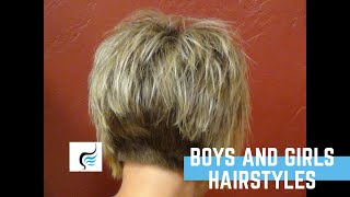getlinkyoutube.com-Short Stacked and Short Straight Hairstyles | Our Most Liked Haircuts