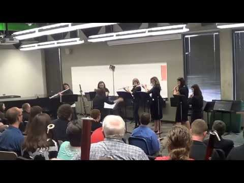 UVU Small Ensembles Spring 2014 - Flute Choir