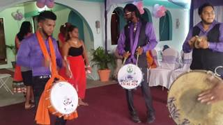 getlinkyoutube.com-Phoenix Boyz Tassa Drummers @ Cunupia Wedding
