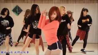 getlinkyoutube.com-【HD繁體中字】 JunHyoSeong  全烋星 (孝盛) (Secret) -  Good night Kiss  (Dance Practice)