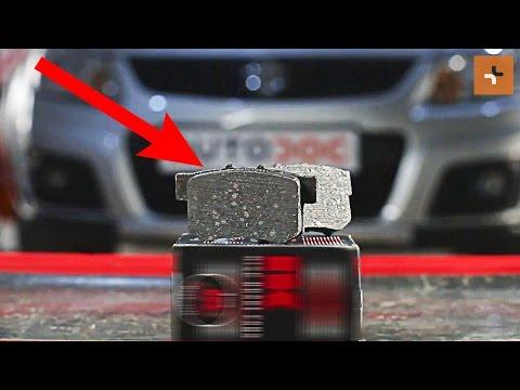 How to replacerear brake padsonSUZUKI SX4 1 TUTORIAL | AUTODOC