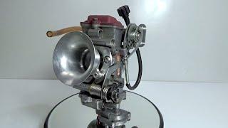 getlinkyoutube.com-KEIHIN YOSHIMURA MJN FCR28carburetor ヨシムラMJNキャブレター分解
