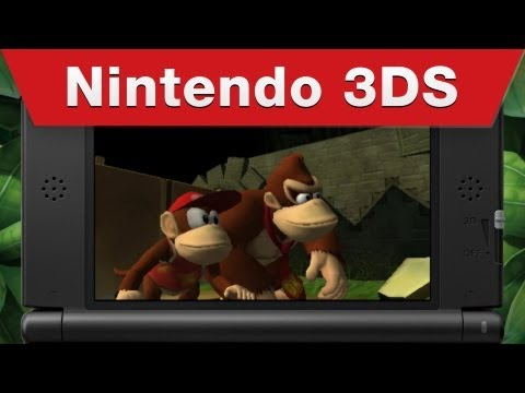 Nintendo 3DS - Donkey Kong Country Returns 3D Gameplay Trailer