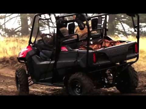 Honda's All-New Pioneer 700 SxS