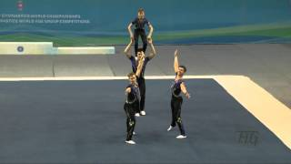 Great Britain (GBR) -  2016 Acrobatic Worlds, Putian City (CHN) Balance  Men's Group