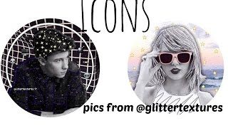 How to make Icons for Instagram or Twitter