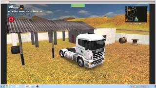 getlinkyoutube.com-Grand Truck Simulator - Buying real estate - Compra de garagem - Compra de propiedad