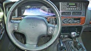 getlinkyoutube.com-Jeep Grand Cherokee ZJ 5.2L V8 - 5-speed manual swap Demonstration (GoPro Stereo)