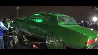 "getlinkyoutube.com-Orlando Classics 2013 CSC Slime Box Chevy Tucking 32"" Forgiato Magro-L Wheels"