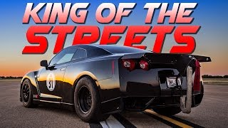 AMS GT-R Takes Down THREE 2,000hp Lambos!!!