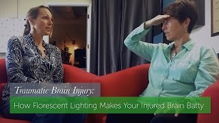 How Florescent Lighting Makes Your Injured Brain Batty