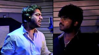 "getlinkyoutube.com-Simbu Singing Adiye Rathiye Song || Shanmuga Pandian's Sagaptham || Making Of ""Adiye Rathiye """