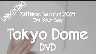getlinkyoutube.com-Unboxing: SHINee Tokyo Dome DVD (Special Edition)
