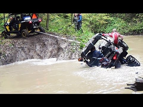 Creek Crossing + Hydro Locking a RZR - Can-Am Maverick Max RS 1000, Polaris RZR XP 1000, XP900, XP1K