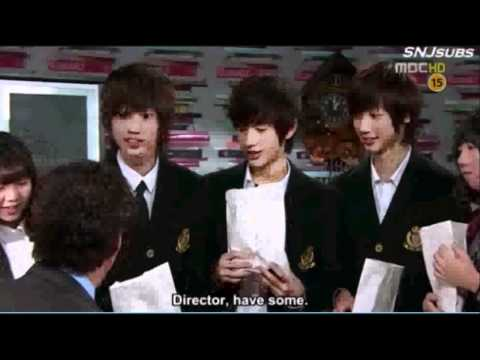 BOYFRIEND Kwang Min ,Young Min and Min Woo MBC All My Love CUT Scene -pcgT_m6BQzY
