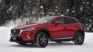 getlinkyoutube.com-発売直前Mazda(マツダ)CX-3雪上ドリフト試乗