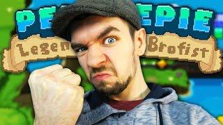 getlinkyoutube.com-I'M IN A GAME | PewDiePie: Legend of the Brofist #1