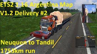getlinkyoutube.com-ETS2 1.16.x Argentina Map V1.2 Delivery #2