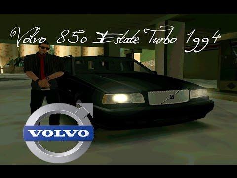GTA San Andreas: Volvo 850 Estate Turbo 1994 (SA:MP:Мод)