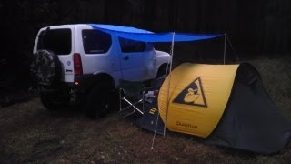 getlinkyoutube.com-【RinderonVG】ソロキャンプvol.3(1/4) solo camping trip 2012/12/15