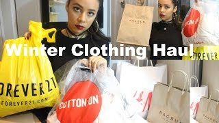 getlinkyoutube.com-Winter Clothing Haul: (Cotton On, All Odds, F21, ect)