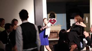 "getlinkyoutube.com-フラッシュモブ 披露宴 サプライズ ""うれしい!たのしい!大好き!"" Dreams Come True  Flash Mob Wedding surprise"