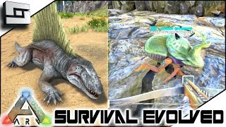 getlinkyoutube.com-ARK: Survival Evolved - DIMETRODON/DUNG BEETLE TAMING FAIL! S3E13 ( Gameplay )