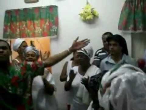 Festa Do Mestre Canito Da Yalorixa Mãe Penha Parte 1