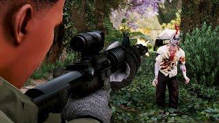 getlinkyoutube.com-REALISTIC ZOMBIES APOCALYPSE!! (GTA 5 Mods)