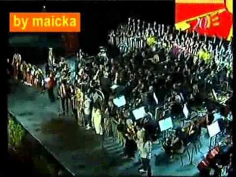 Sveceno pustanje na fontanata na denot na nezavisnosta na MKD