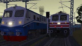 getlinkyoutube.com-MSTS IR Indian Railways (XVI) By Vaibhav Wakharkar