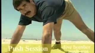 getlinkyoutube.com-Navy Seal Workout Part 2 - Pull Ups, Push Ups & Dips