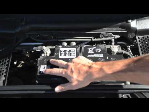 Porsche SLC: Battery Care on The Porsche 911 Carrera