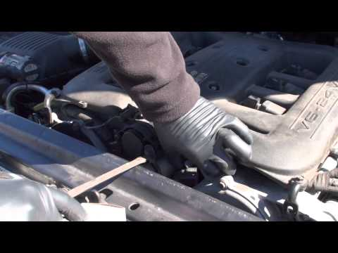 Chrysler 300 3.5 camshaft sensor location and replacement