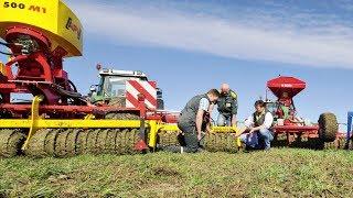 getlinkyoutube.com-Drei Grünlandstriegel mit Walze im top agrar-Test