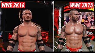 getlinkyoutube.com-WWE 2K16 Graphics Comparison: Is It Worse? (PS4)