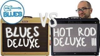 getlinkyoutube.com-Fender Blues Deluxe vs Fender Hot Rod Deluxe III Amplifier