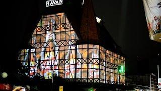 getlinkyoutube.com-Video Mapping - Castelo Havan em Blumenau